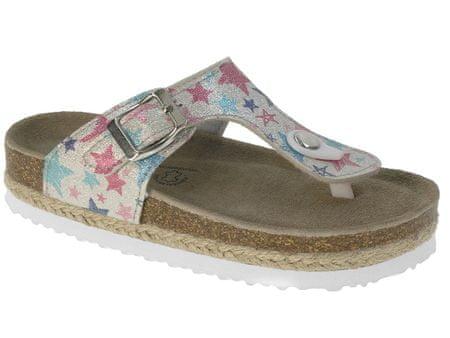 Beppi sandale za djevojčice Chinelo Pala, 32, srebrna
