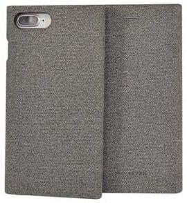 SO SEVEN preklopna maska Premium Gentleman Book Case Fabric Grey za iPhone 6/6S/7/8 Plus (SSFLS0007)