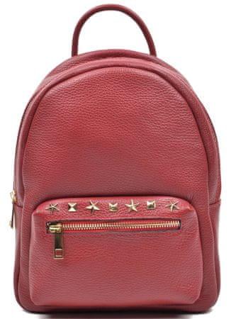 Mangotti női bordó hátizsák