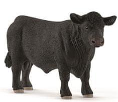Schleich Angus fekete bika