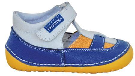Protetika chlapecké barefoot sandály Erik 19 modrá