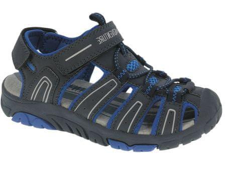 Beppi sandały chłopięce Casual Sandal 32, czarny