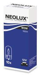 NEOLUX Žárovka typ W3W, Standard 3W, 12V, W2.1x9.5d, (karton 10 ks)
