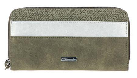 Tamaris dámská khaki peněženka Khema