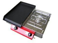 Gorenc plinski roštilj Camping 51K, Fe ploča s kuhalom
