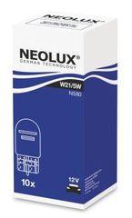 NEOLUX Žárovka typ W21/5W, Standard 21/5W, 12V, W3x16q, (karton 10 ks)