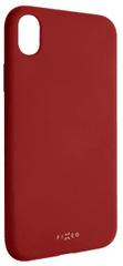 Fixed Zadní silikonový kryt Story pro Apple iPhone XR, červený FIXST-334-RD