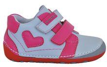 Protetika dívčí kotníkové barefoot boty Pony