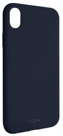 Fixed Zadní silikonový kryt Story pro Apple iPhone XR, modrý FIXST-334-BL