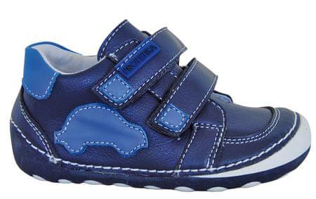 fbb5e877a9cd Protetika chlapecké kotníkové barefoot boty Levis 24 modrá