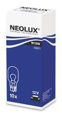 NEOLUX Žárovka typ W16W, Standard 16W, 12V, W2.1x9.5d