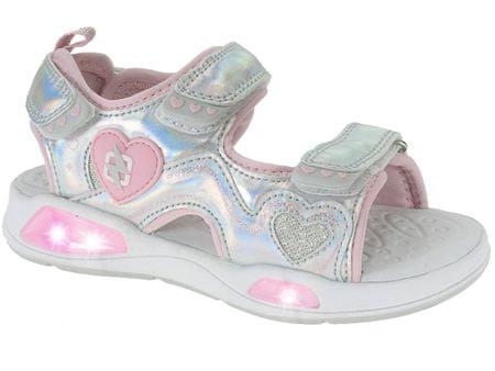 Beppi sandale za djevojčice Casual Sandal, 25, srebrne