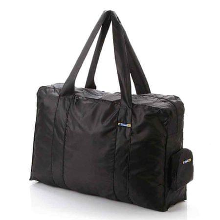 TravelBlue zložljiva torba črna, 16 L