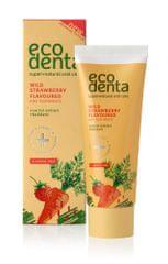 Ecodenta Zubná pasta s jahodovou príchuťou pre deti 75 ml