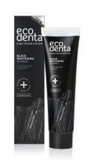 Ecodenta Čierna bieliaca zubná pasta s uhlím a extraktom Teavigo 100 ml