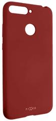 Fixed Zadní silikonový kryt Story pro Huawei Y6 Prime (2018), červený FIXST-294-RD
