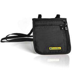 TravelBlue Bezpečnostní pouzdro/peněženka na krk ultratenké TBU124