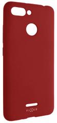 Fixed Zadní silikonový kryt Story pro Xiaomi Redmi 6, červený FIXST-327-RD
