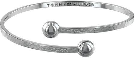 Tommy Hilfiger Solidna stal bransoletka dla kobiet TH2780061