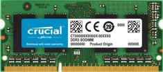 Crucial pomnilnik (RAM) Mac & PC DDR3 4GB, 1066MHz, SODIMM, CL11 (CT4G3S1067M)
