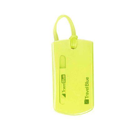 TravelBlue oznaka za osebne podatke, zelena, 2 v kompletu