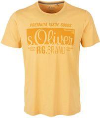 s.Oliver Męska koszulka 03.899.32.5206 .1425 Yellow Przyjaciel