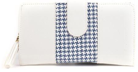Mangotti portfel damski biały