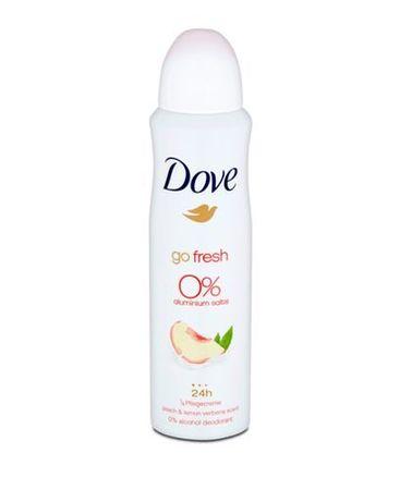 Dove Dezodor alumínium nélkül Go Fresh őszibarack és citrom (Alu Free Deodorant) 150 ml