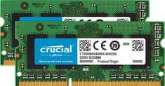 Crucial pomnilnik (RAM) za PC in Mac SODIMM DDR3 16GB Kit (2x 8) PC3-12800 1600MHz CL11