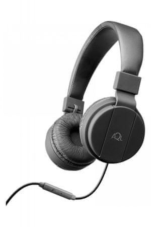CellularLine naglavne slušalice s mikrofonom Chroma, crne