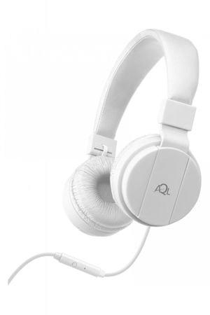 CellularLine naglavne slušalice s mikrofonom Chroma, bijele