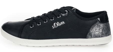 3193d3347a442 s.Oliver dámske tenisky 36 čierna | MALL.SK