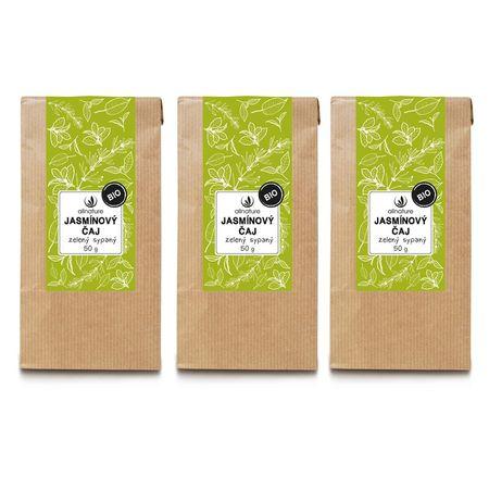 Allnature herbata jaśminowa, zielona, sypana BIO 50 g 3 szt.
