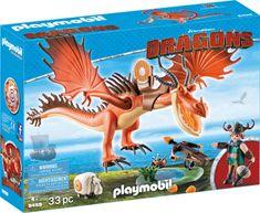 Playmobil Smrkljasti in zakrivljeni krempelj (9459)