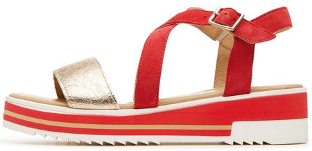 IGI & CO dámské sandály 41 červená