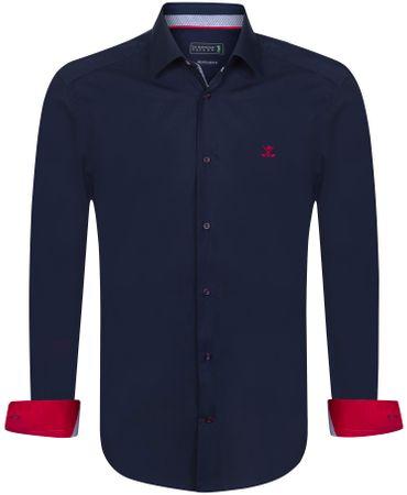 Sir Raymond Tailor pánská košile Concede L tmavo modrá