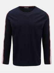 Shine Original tmavě modré tričko s pruhem na rukávu Track