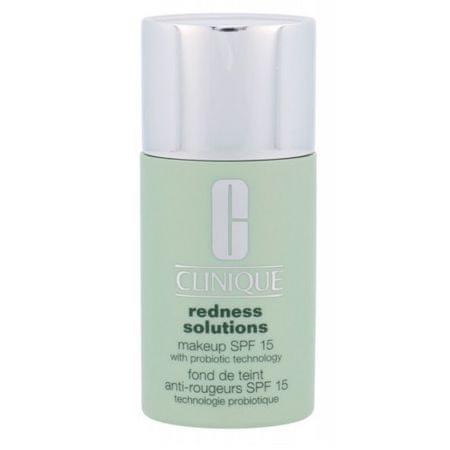 Clinique Ochranný make-up proti zarudnutí pleti SPF 15 Redness Solutions (Makeup SPF 15 With Probiotic Techno