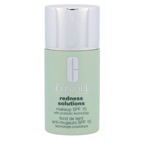 Clinique Ochranný make-up proti zarudnutí pleti SPF 15 Redness Solutions (Makeup SPF 15 With Probiotic Techno (Odstín 02 Calming Fair CN20)
