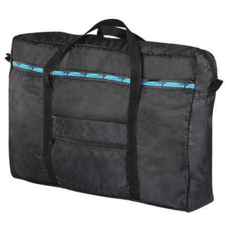 TravelBlue zložljiva torba za mokre brisače, črna