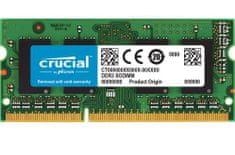 Crucial pomnilnik (RAM) za prenosnike in Mac SODIMM DDR3L 4GB PC3-12800 1600MHz CL11 (CT4G3S160BM)