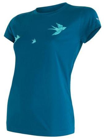 Sensor koszulka damska z krótkim rękawem Coolmax Fresh Pt Swallow L