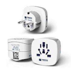 TravelBlue potovalni adapter za Evropo z dvema USB polnilcema