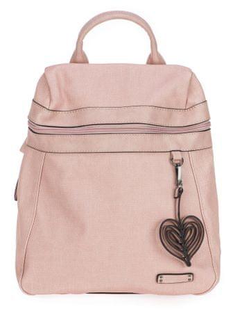 Tamaris dámský růžový batoh Adina