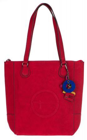 Tamaris červená kabelka Fee