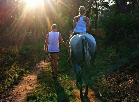 Allegria na koních za indiánským pokladem