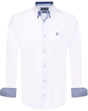 Sir Raymond Tailor pánská košile Gutta L biela