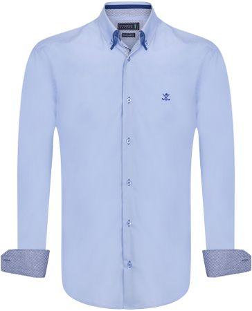Sir Raymond Tailor pánská košile Gutta M modrá