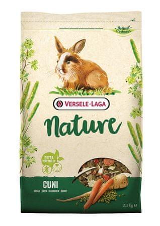 Versele Laga hrana za zajce Nature Cuni, 2,3 g - Odprta embalaža