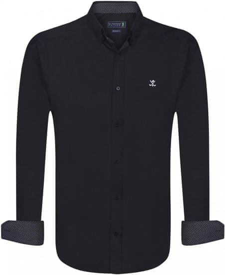 Sir Raymond Tailor pánská košile Lofted S černá
